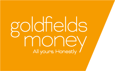 Logo for Ride for Youth Team, Goldfields Money