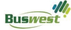 Logo for Ride for Youth Team, Buswest