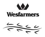 Logo for Ride for Youth Team, Wesfarmers 1