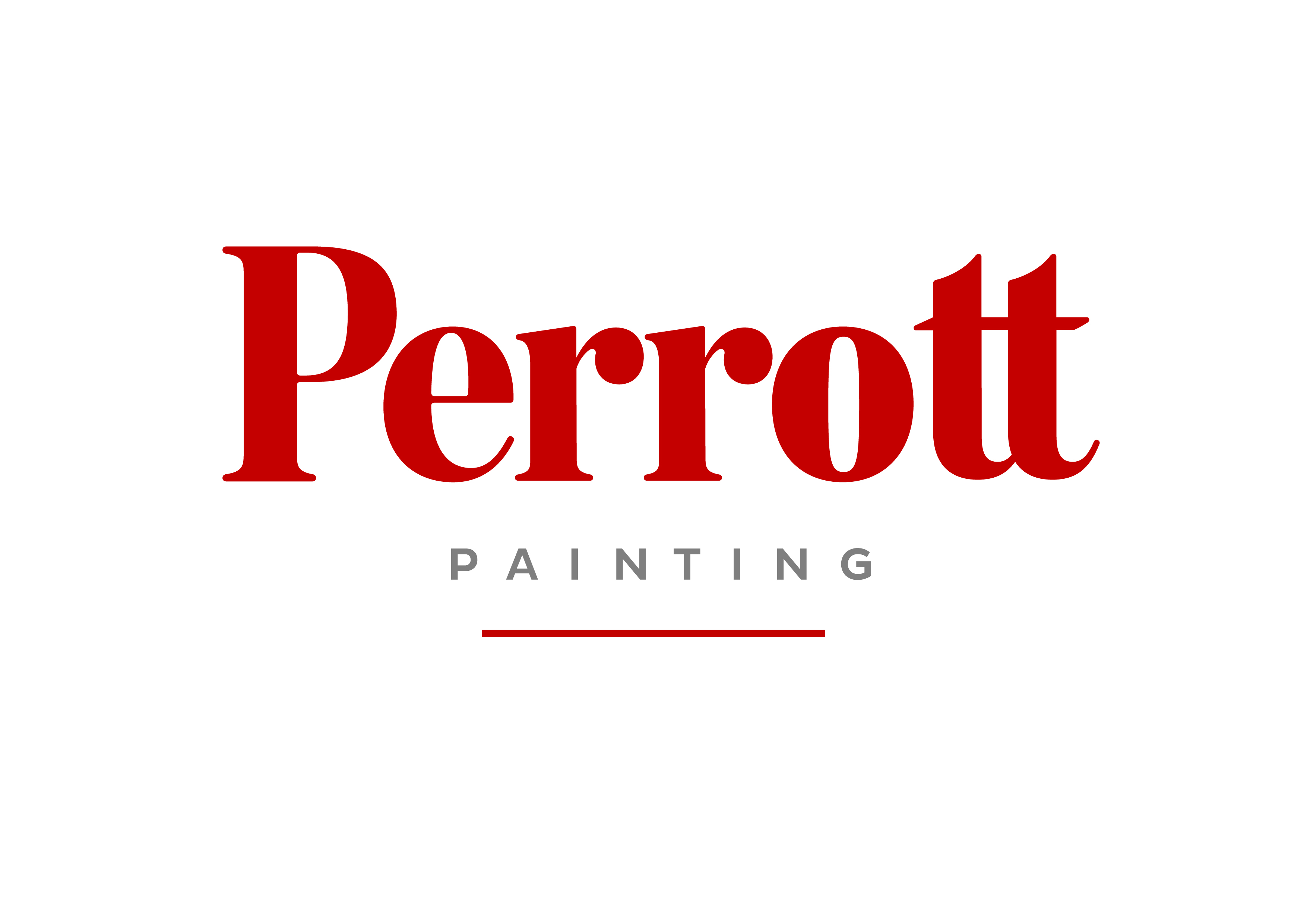 Logo for Ride for Youth Team, Perrott Painting